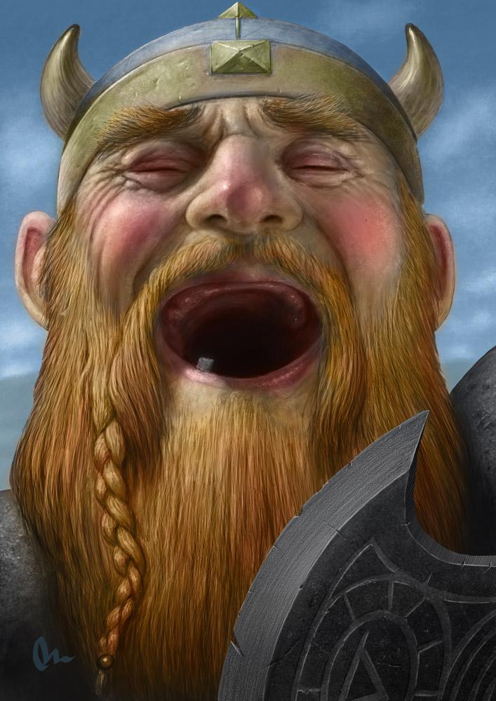 dwarf's liquor makes me laugh by AlMaNeGrA