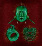 king pakal's tomb jade jewels