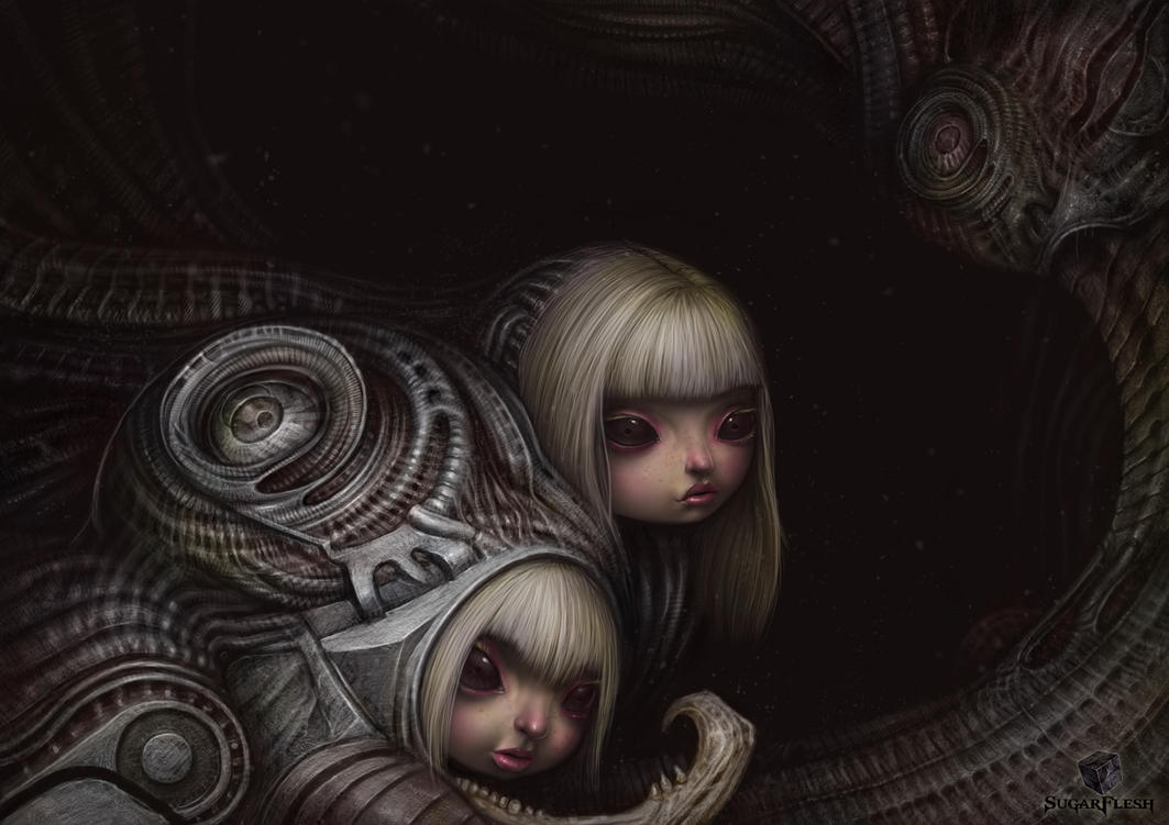 Dolls from the hole 1 by *AlMaNeGrA and liransz