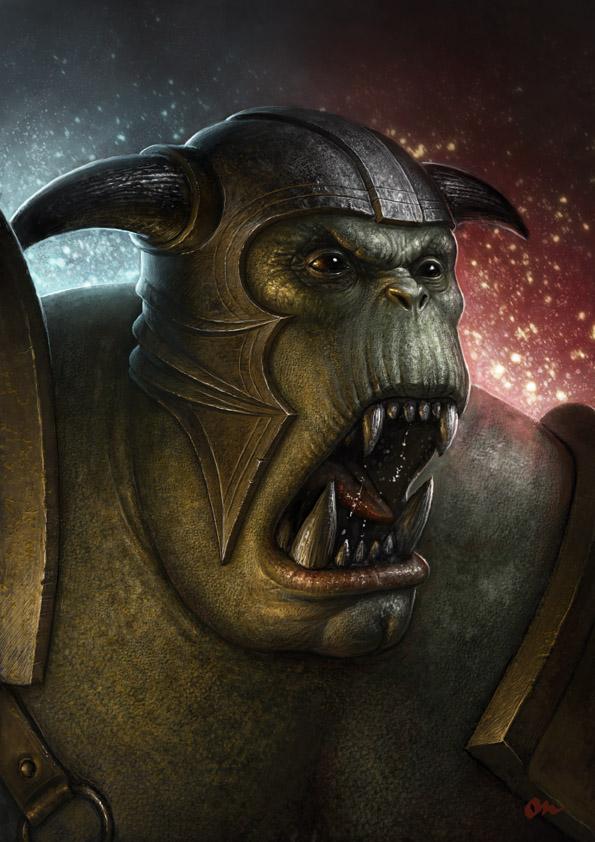 Ork concept 1 by AlMaNeGrA