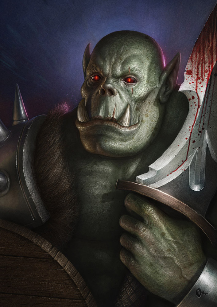 orc concept 2 by AlMaNeGrA