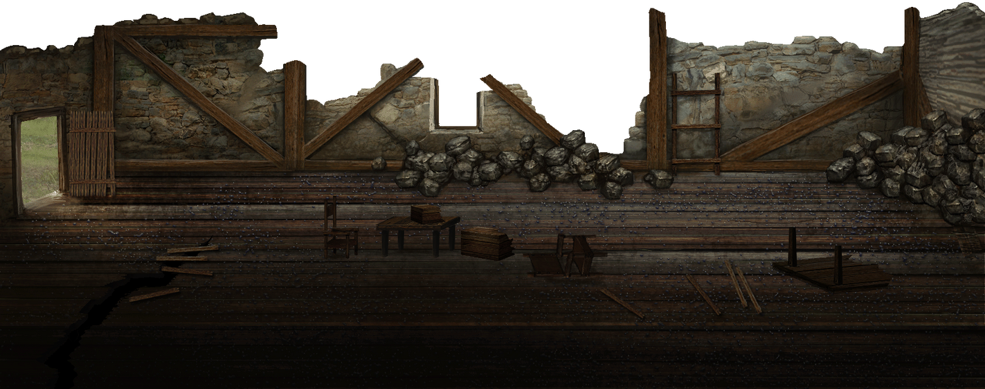 Mark of darkness map 14 - Razed house 3 by AlMaNeGrA