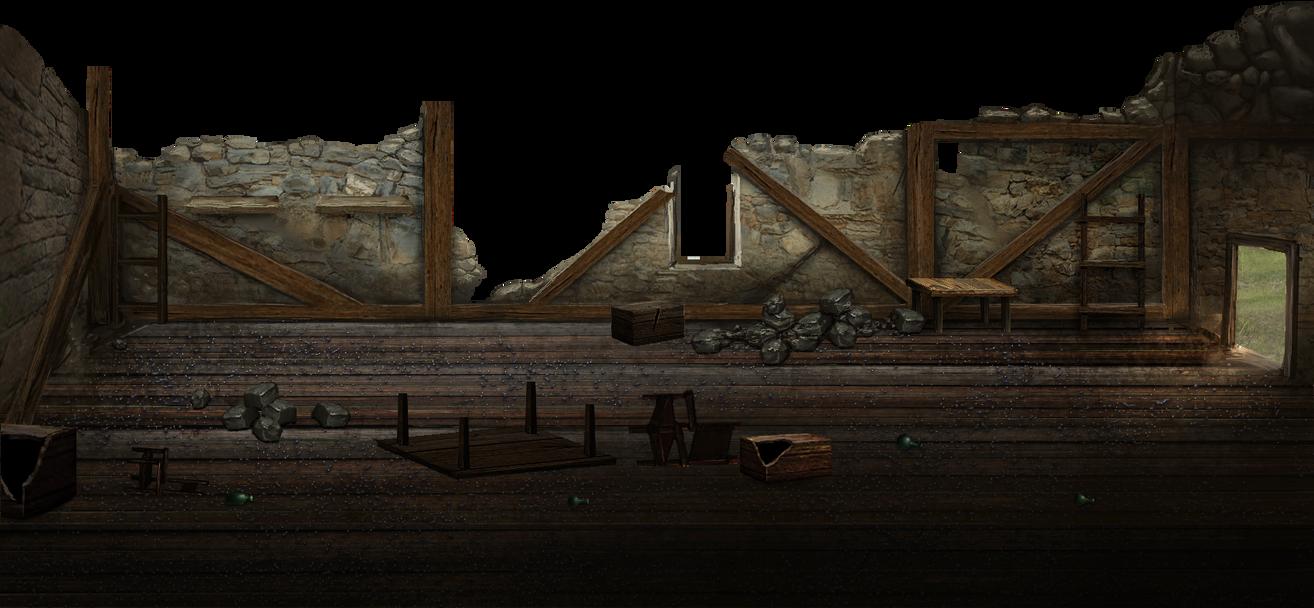 Mark of darkness map 15 - Razed house 4 by AlMaNeGrA