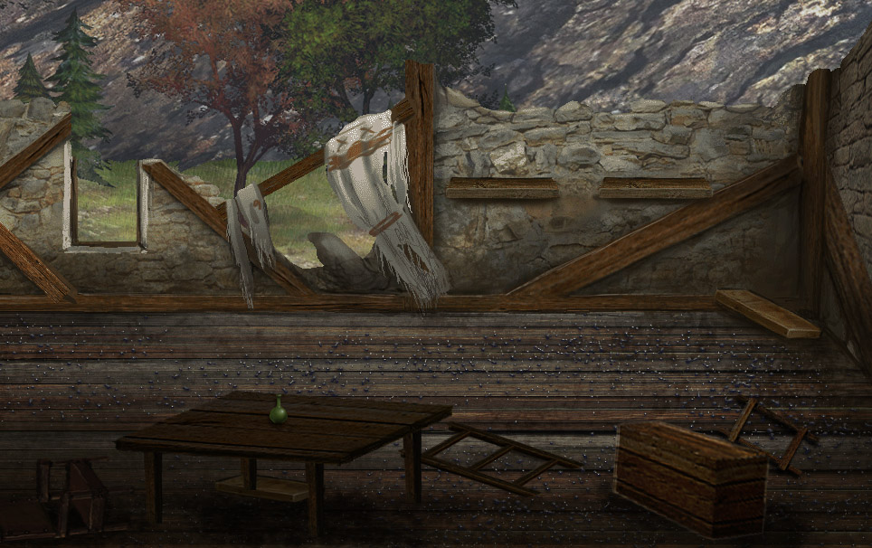 Mark of darkness map 12 - Razed house screenshot by AlMaNeGrA