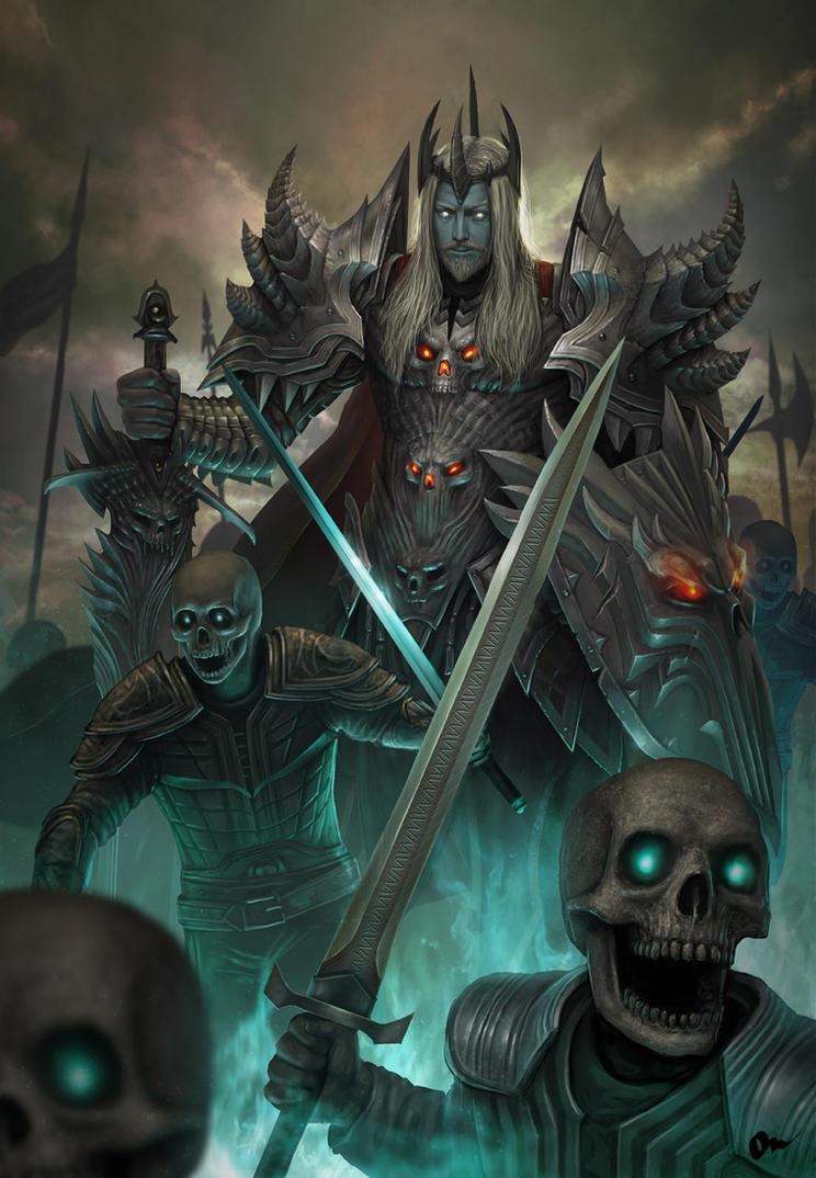 Death high knight by AlMaNeGrA