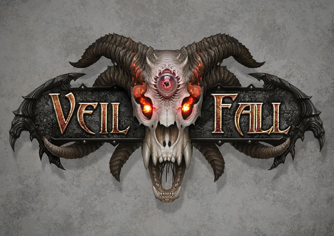Veil Fall logo by AlMaNeGrA