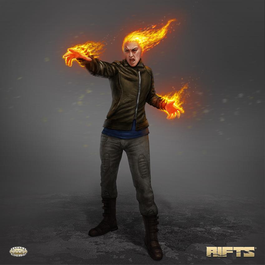 RIFTS Firedancer Burster by AlMaNeGrA