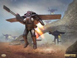 RIFTS SAMAS Squadron by AlMaNeGrA