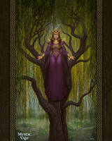 Cradling willows by AlMaNeGrA