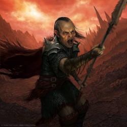 Orc of Mordor by AlMaNeGrA