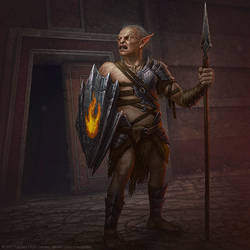 Guardian of Gundabad by AlMaNeGrA