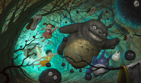 Totoro in wonderland