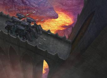 Castle Garrison by AlMaNeGrA