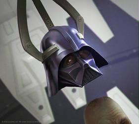 STAR WARS TCG: Darth Vaders Helmet by AlMaNeGrA