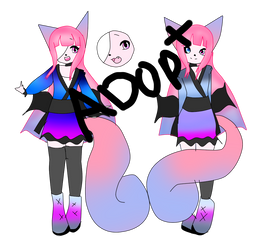 Anthro squirrel cat adopt (OPEN) by tayla4356