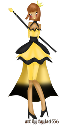Princess Of Gold And Black by tayla4356