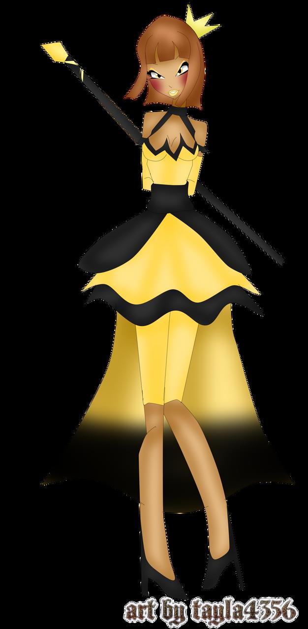 Princess Of Gold And Black