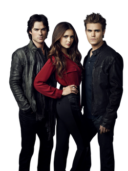 TVD Season 4 - Group PNG by xSparklyVampire