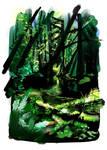 Rainforest study 04