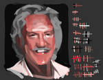 Donald Sutherland in 100 Brush Strokes