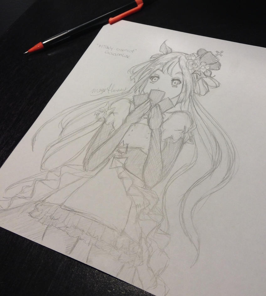 Milady-rosenrot Gaiaonline Avatar by MageAlmasy8