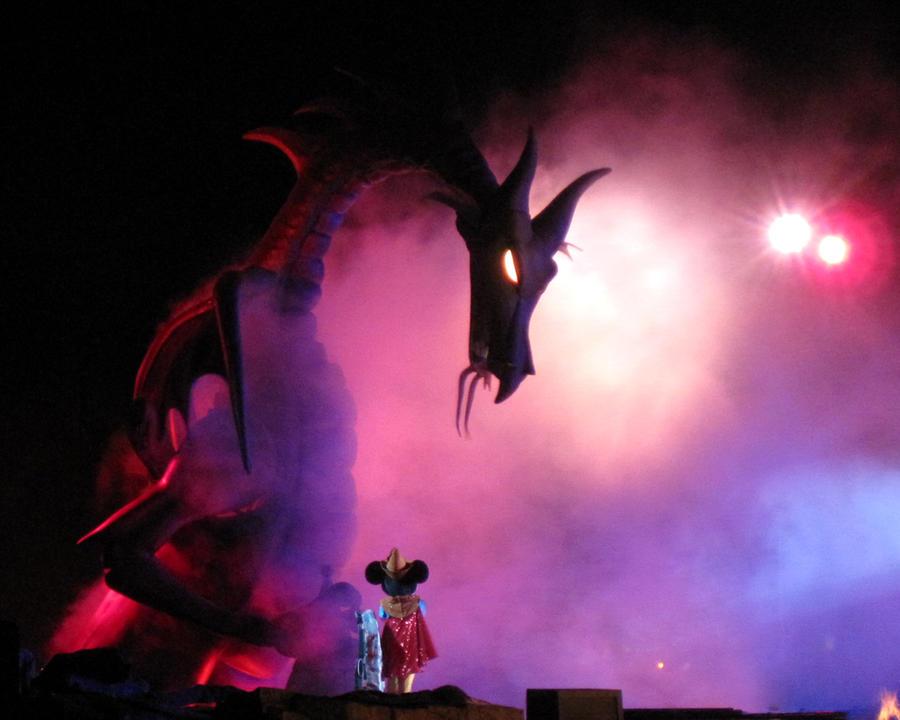 Fantasmic - Mickey's Nightmare by Skylanth