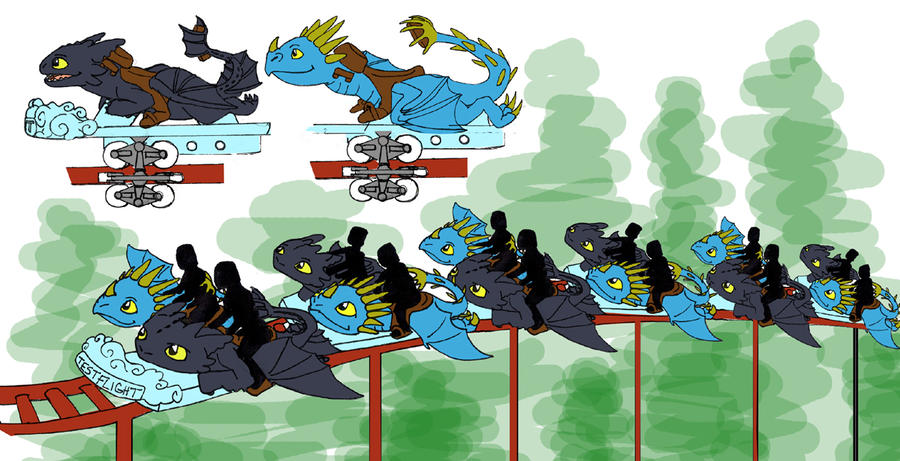 How to train your dragon ride by skylanth on deviantart how to train your dragon ride by skylanth ccuart Gallery