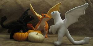 Baby Halloween Dragons