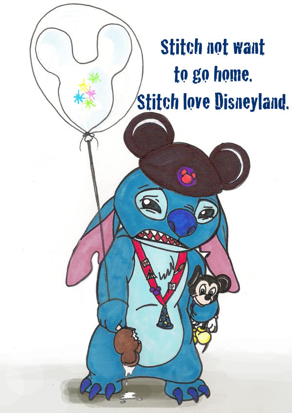 Disney Daze Stitch By Skylanth On Deviantart