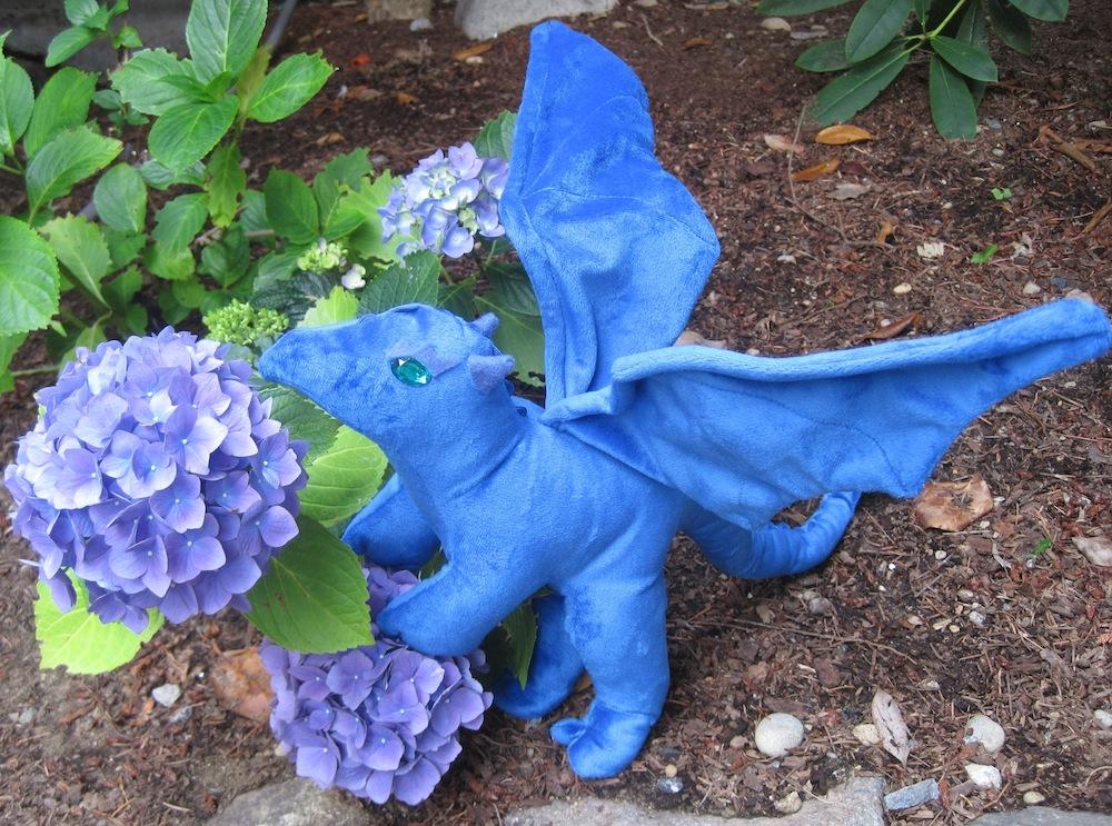 Hydrangea Dragon by Skylanth
