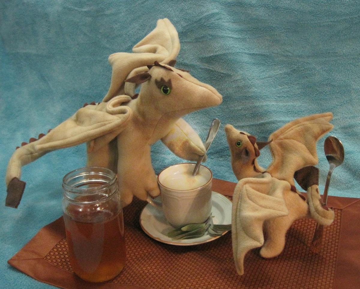 A Draconic Teatime by Skylanth