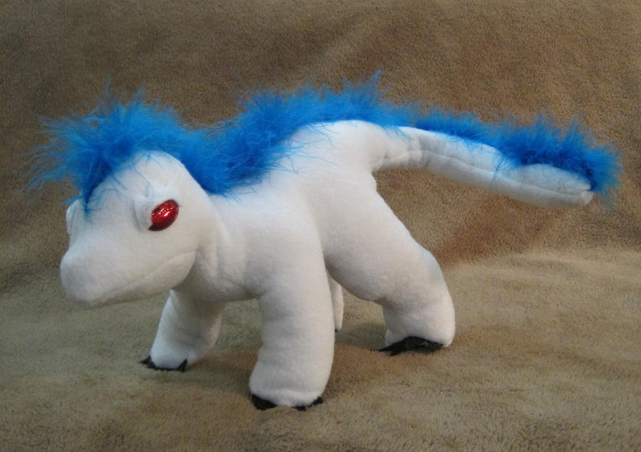 Wingless White Beast by Skylanth