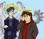 Angels among the stars