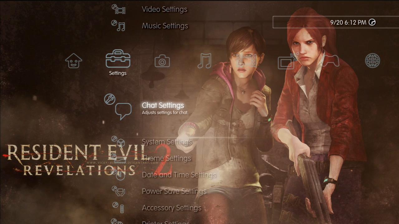 Resident Evil Revelations 2 Dynamic Theme (PS3) by MrJuniorer on