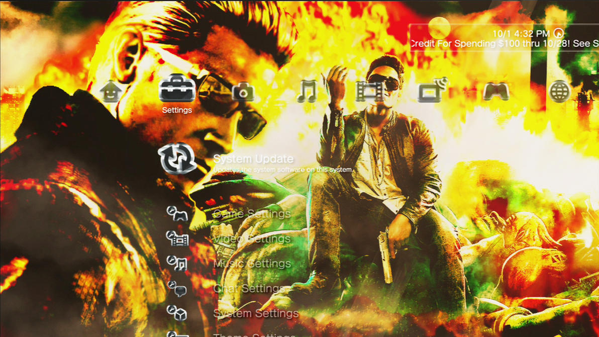 Wesker and Gat Dynamic Theme by MrJuniorer