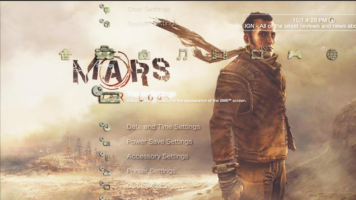 Mars War Logs - Roy Dynamic Theme by MrJuniorer