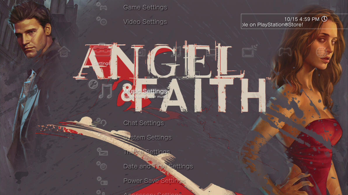 Angel and Faith Comic Slideshow Theme by MrJuniorer