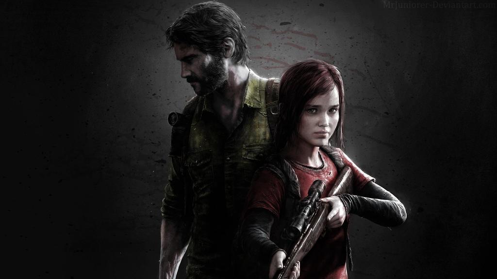 Joel and Ellie Wallpaper by MrJuniorer