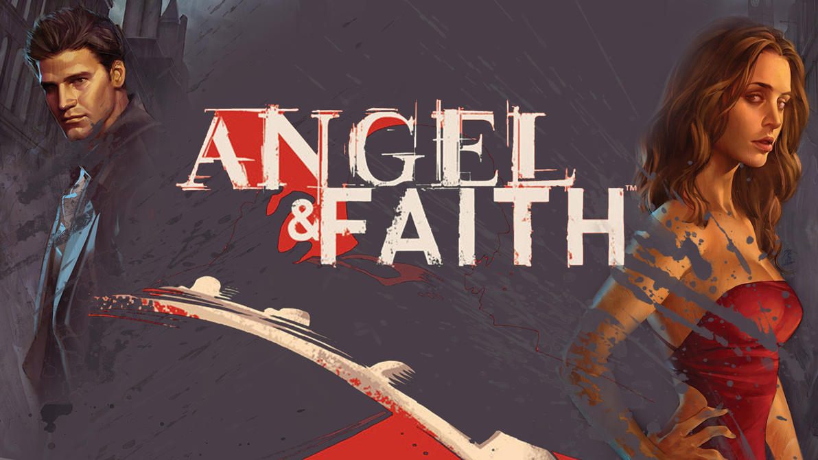Angel and Faith Comic Wallpaper by MrJuniorer