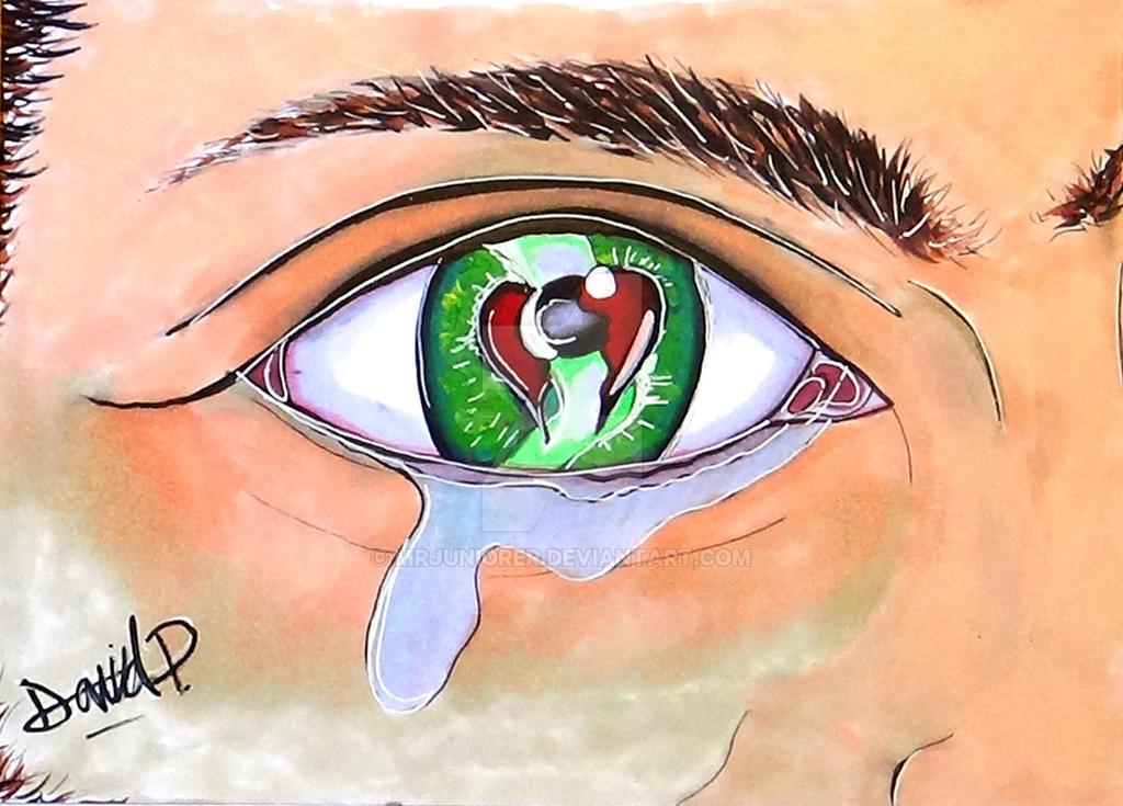 Eye of a Broken Heart by MrJuniorer