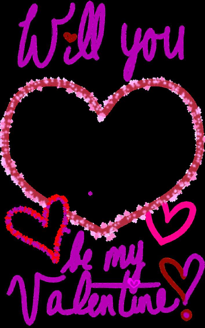 Valentines Day Card Template Transparent By Kymatheson On Deviantart