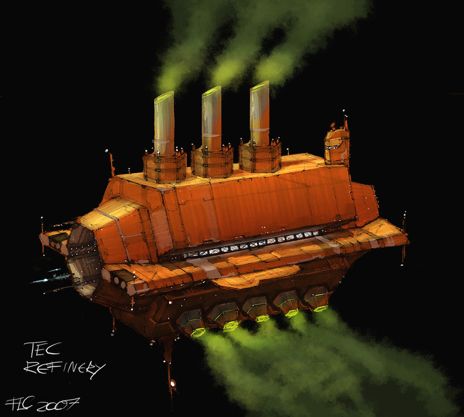 SSE Art 06: TEC Refinery by IgnusDei