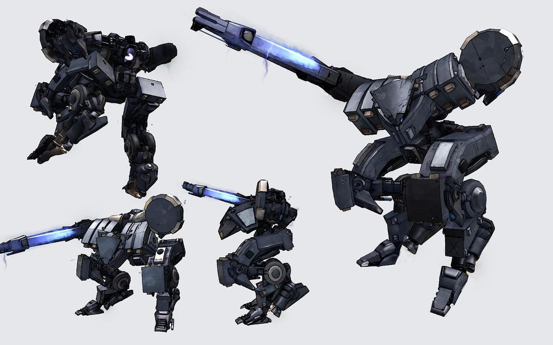 Spore: Metal Gear Tyrant by IgnusDei