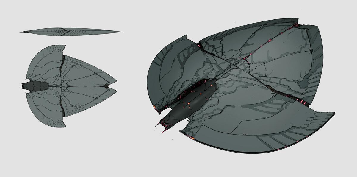 Xenonauts: UFO Corvette by IgnusDei
