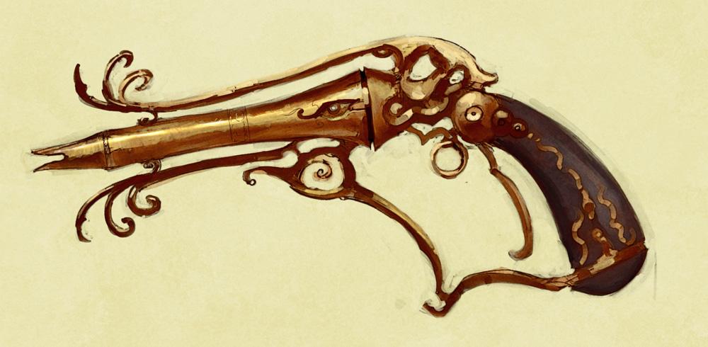 Steampunk gun 01 by IgnusDei
