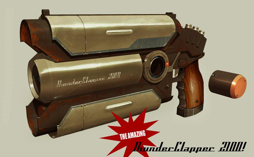 Thunderclapper pistol by IgnusDei