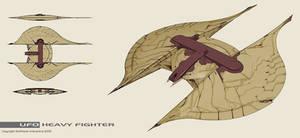 Xenonauts: UFO heavy fighter