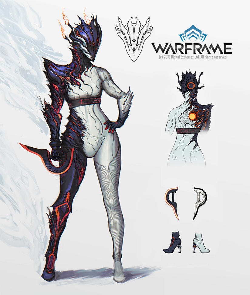 Warframe - Ember Custom skin by IgnusDei on DeviantArt