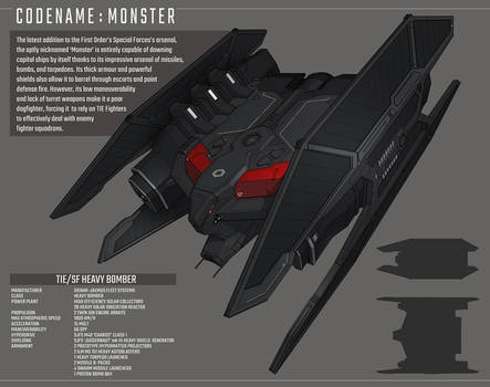 Special Forces TIE Heavy Bomber by IgnusDei