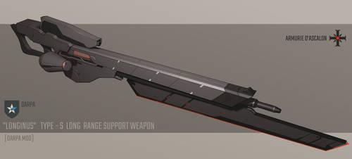 Longinus Type S Long Range Support Weapon